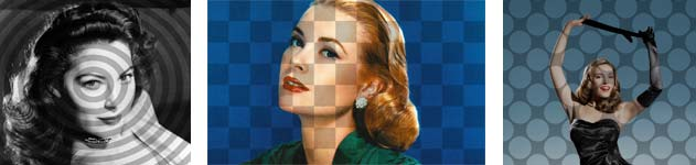 Examples of pop art backgrounds with CSS3
